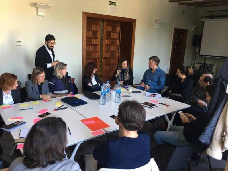 El proyecto europeo SharEEN celebra su evento regional final en el espacio Coworking la Casa del Reloj en Tudela