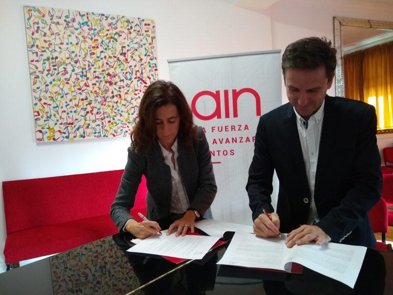 El Orfeón Pamplonés y AIN firman un convenio de colaboración