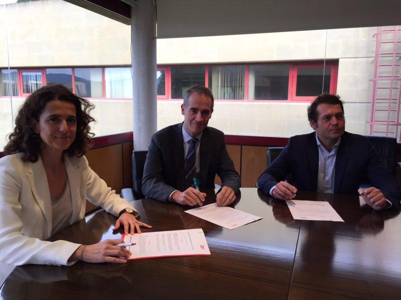 Acuerdo de colaboración con Elkargi y con empresas TIC para impulsar la transformación digital de las industrias navarras