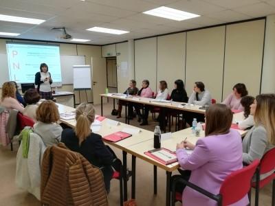 """27 mujeres participan en el programa """"Impulsa en femenino"""" organizado SNE-NL y AIN"""