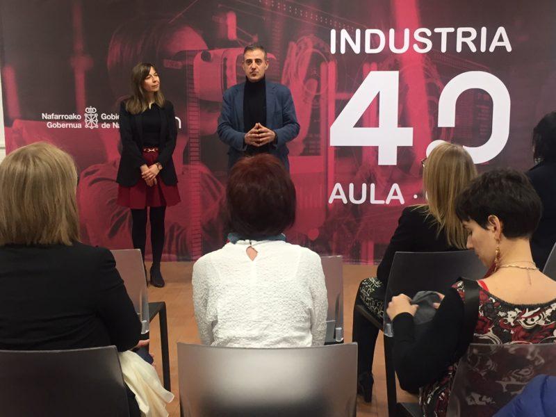 Entra en servicio el aula Industria 4.0 de la agencia de empleo Iturrondo, un espacio de divulgación y formación sobre retos tecnológicos