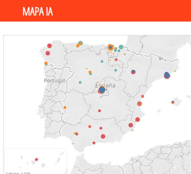 Publicado el primer Mapa de Capacidades sobre la Inteligencia Artificial en España