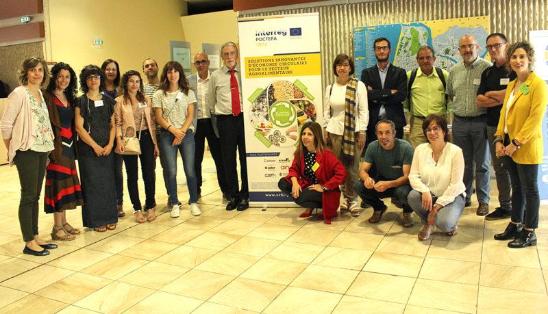 Trece entidades navarras participan en el I Encuentro Transfronterizo sobre Economía Circular en el Sector Agroalimentario