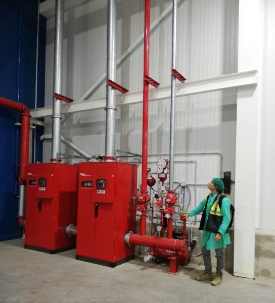 El Grupo Virto instala un sistema pionero en Protección Contra Incendios en cámaras de congelado
