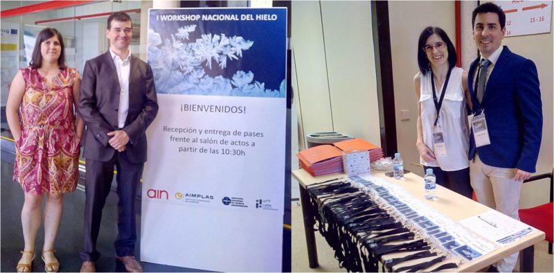 AIN organiza el I Workshop Nacional del Hielo