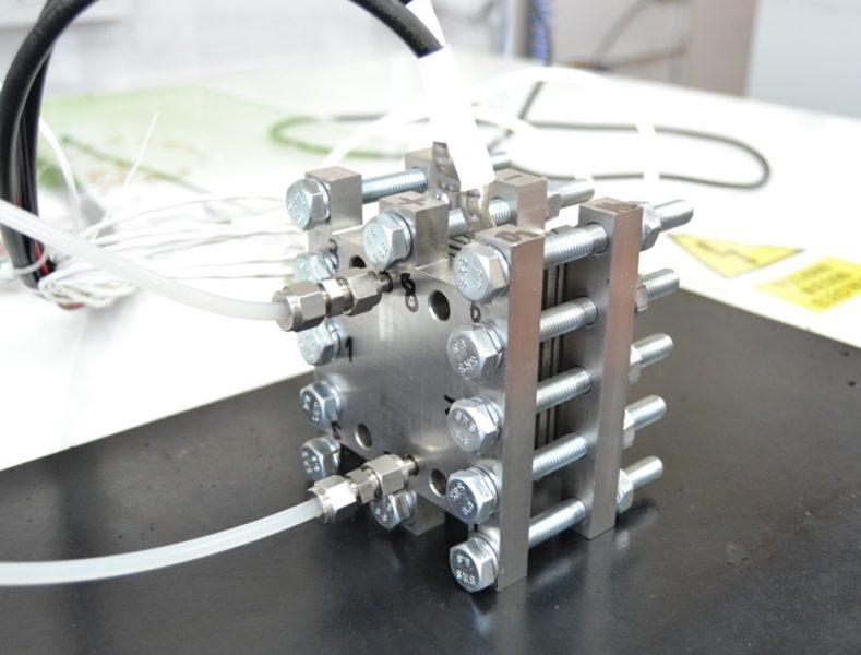 El proyecto ENHIGMA finaliza sus actividades con el ensamblado de un prototipo de electrólisis PEM